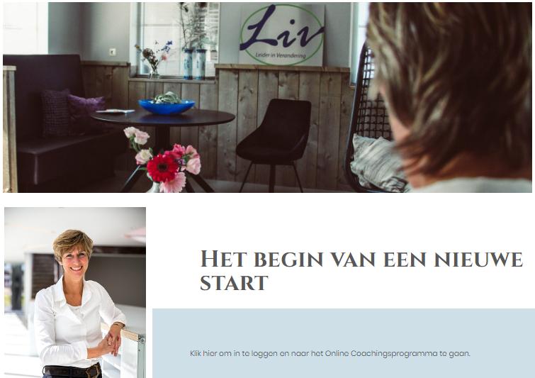Nieuwe start met LIV4coaching